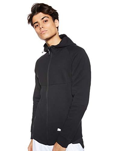 PUMA Herren EVOSTRIPE FZ Hoody Pullover, Black, L