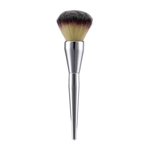 Gcroet 1PC Ronde Pinceau Poudre Fard à Joues Fondation Highlight Brosse Brosse De Maquillage Multifonction Produits De Beauté Visage Doux Brosses