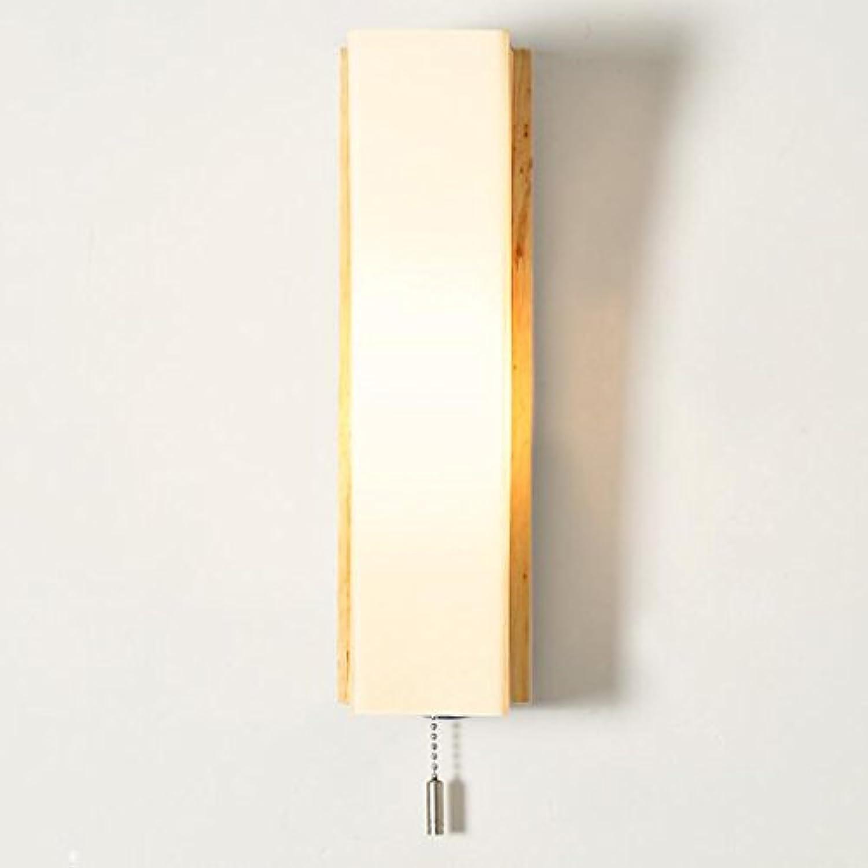 A Koreanische einfache Japanischen stil wandleuchte ganglichter schlafzimmer nachttischlampe led kreative holz holzlampen