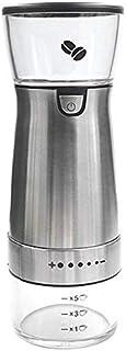 QiKun-Home USB-laddning Automatisk kaffekvarn Uppladdningsbar kaffemaskin Elektrisk kaffekvarn Kryddor Korn Peppar Malning...