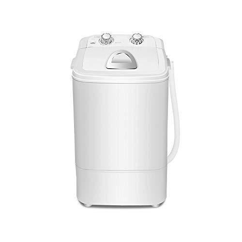 XSJZ Lavadora, 4.6 KG Barril Simple Gran Capacidad Púrpura Irradiación de La Luz Elución Semi-automática del Hogar Mini Lavadora Pequeña Integrada Lavatrice Slim