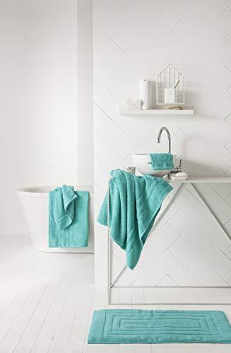 TODAY Maxi Toalla baño, algodón, Diabolo Menta, 150x 90cm