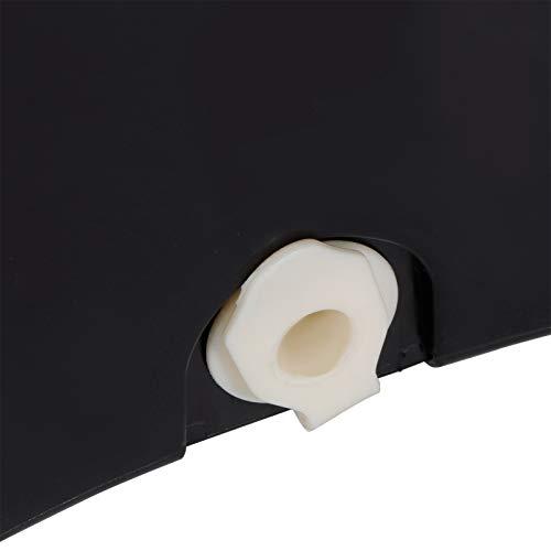 Veloraa Cubo de fregona, práctico Limpiador de Piso de Acero Inoxidable fácil de Instalar, para Piso de baldosas de Madera