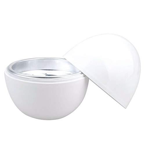BingWS elektrische eierkoker, 4 ei-capaciteit, ellipse, multifunctionele huishoudelijke elektrische eierkoker, witte ei-stoommachine, eierkoker,