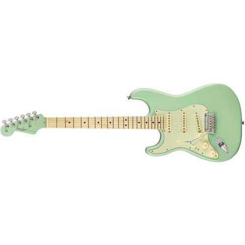 Cheap Fender American Pro Stratocaster Limited Left Handed Surf Green Electric Guitar Black Friday & Cyber Monday 2019
