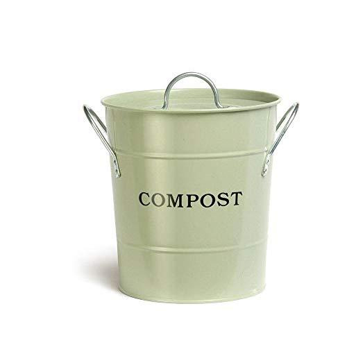 %12 OFF! Exaco Trading Company Trading Co. Exaco CPBG01 2-in-1 Soft Green Kitchen Compost Bucket