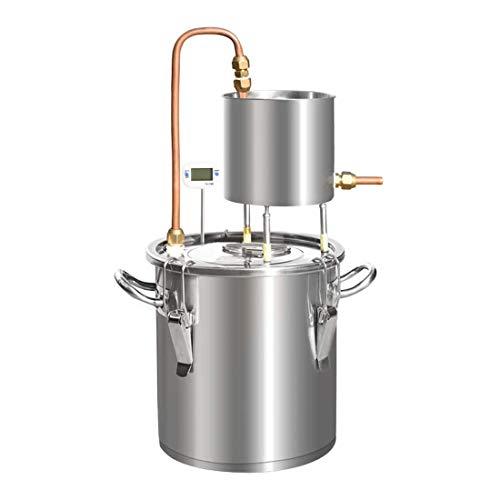 LTLWSH Destilador de Agua de Acero Inoxidable con Alcohol,