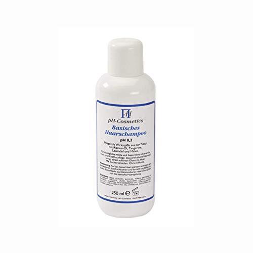 Basisches Haarshampoo pH 8, 2, schonende Pflege mit Basenshampoo, ph-Cosmetics, 250 ml