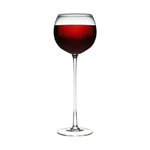 Long Stem Red Wine Glass 12  Stem