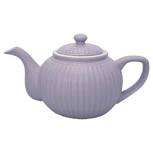 GreenGate - Teekanne - Alice - Lavender - Porzellan - 1 Liter