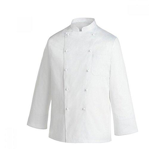 EGOCHEF Emporio FERRARIS - Giacca Cuoco Classica (White, XXXXL)