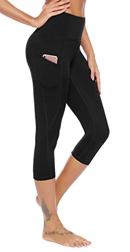AUU High Waisted Leggings with Pockets Workout Leggings