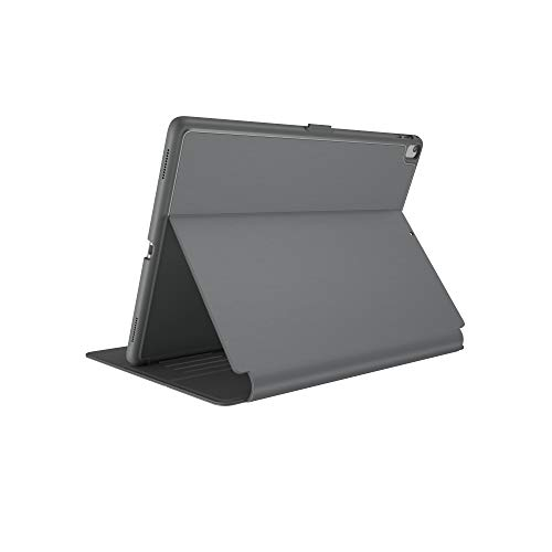 Speck Products Compatible Case for Apple iPad Mini 4, Balance Folio Case and Stand, Stormy Grey/Charcoal Grey