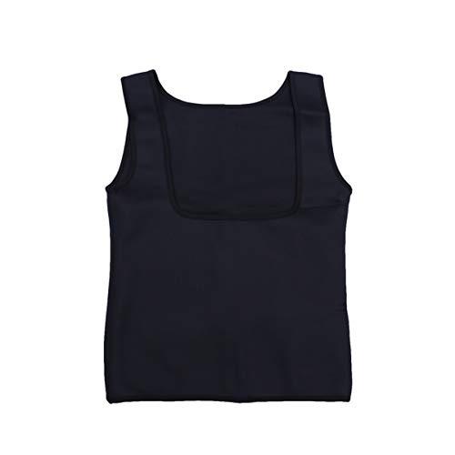 Garneck Workout Taille Trainer Sweat Vest Tops Taille Trainer Polyester Yoga Sauna Shirt Pak voor Vrouwen Meisjes Gewichtsverlies Cincher Shaper Slimmer Fitness (L) Stijl 10
