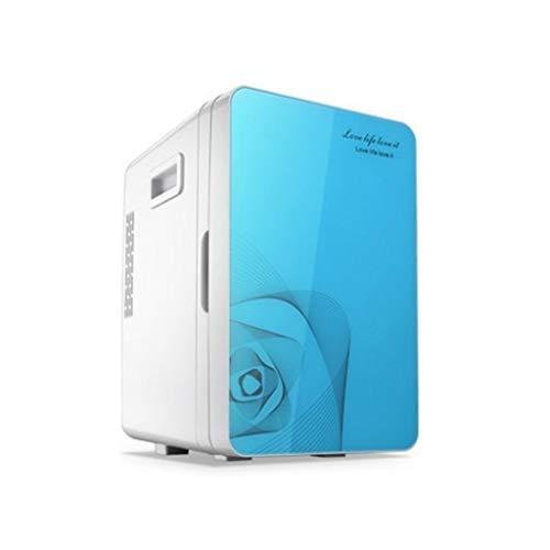 GGMMBX Tragbare Gefriertruhe Autokühlschrank 12V DC Autokühlschrank heiß und kalt tragbarer elektrischer Kühlschrank 20L (Farbe : B)