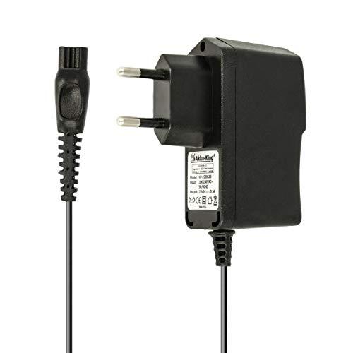 Batería de King 220V Cargador Cable de Carga 7.5W (15V/0.5A) para afeitadora Philips la HQ de 1,2m, HS de, RQ de, AT, PT de Serie, Philips PT860/16, AT750, AT751, AT752, AT753