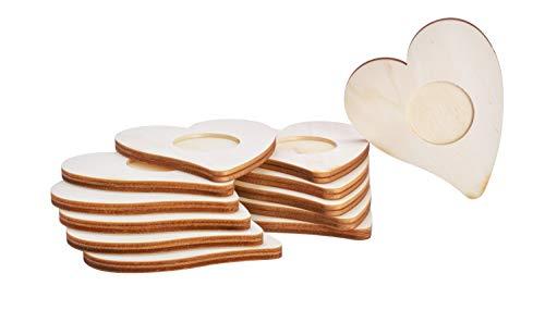 12 Teelichthalter'Herz', VBS Großhandelspackung