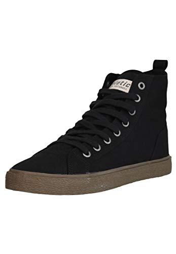 Ethletic Unisex Sneaker Hi Fair Goto Jet Black 36 Fair | Vegan | Nachhaltig