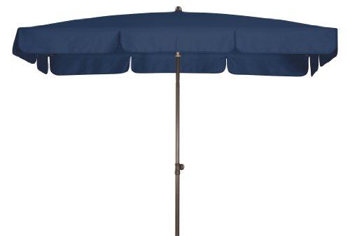 Absolut wasserdichter Gartenschirm Waterproof 185x120 von Doppler mit UV-Schutz 80, Farbe dunkelblau