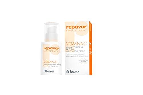 Repavar Revitalizante Crema Contorno Ojos, antioxidante y antiarrugas. 15 Ml