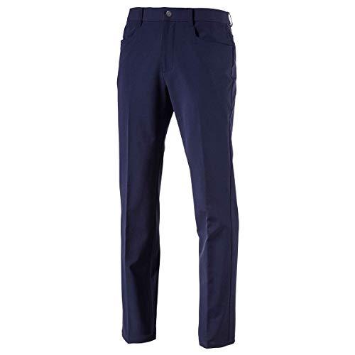 Puma Golf Hommes Pantalon Chaud Pantalon de Golf - Peacoat -...