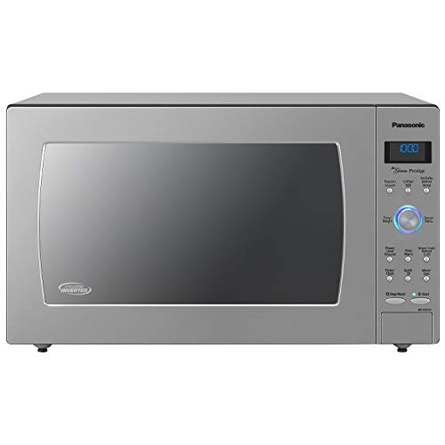 Panasonic Countertop / Built-In Microwave Oven with Cyclonic Wave Inverter Technology and 1250W of Cooking Power - NN-SD975S - 2.2 Cu. Ft (Stainless Steel / Silver)