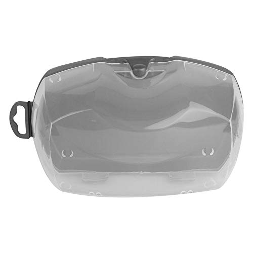 3 stuks draagbare duikmasker tas duikmasker scuba bril opbergdoos case slijtvast PP-kunststof zwembril container box beschermdoos duikglazen beschermtas