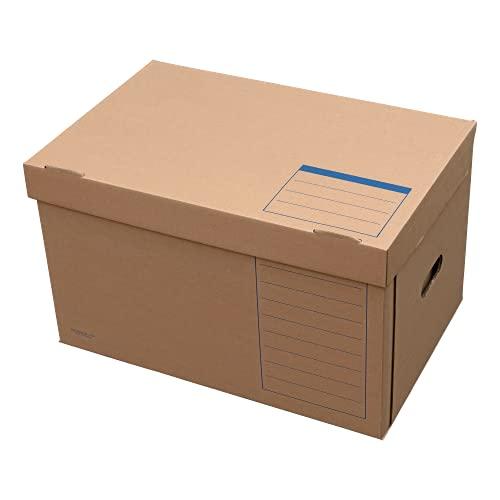 ELBA Archiv-Box Tric System, naturbraun, 10er Pack