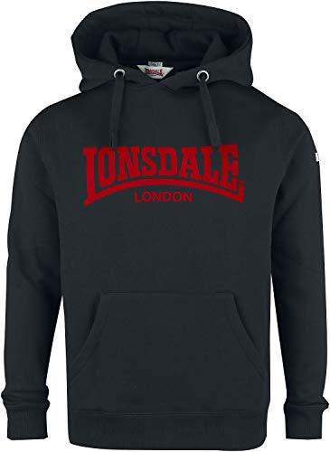 Lonsdale Sweat à Capuche One Tone pour Homme. - Noir - XXXL