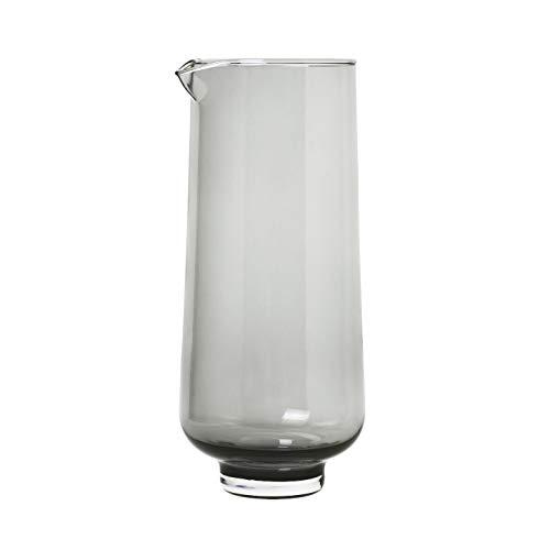 blomus 63920 Flow Wasserkaraffe, Glas, 34 Fluid_Ounces, Smoke