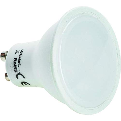 10x LED Spotlight GU10 3W Blanco Neutro 4000K 220lm Lámpara 120° 50x55mm 230V AC SMD 2835 CRI80+