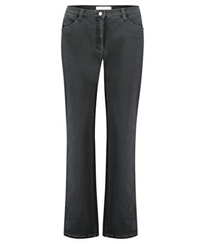 Brax Damen Straight Jeans Carola, Grau (Clean Grey 5), W31 / L30 (Herstellergröße: 40K)