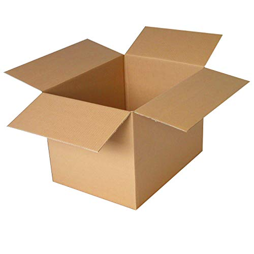 PackageZoom 16 x 12 x 8 Inches Medium Moving Boxes Strong Shipping Boxes, 25 Pack