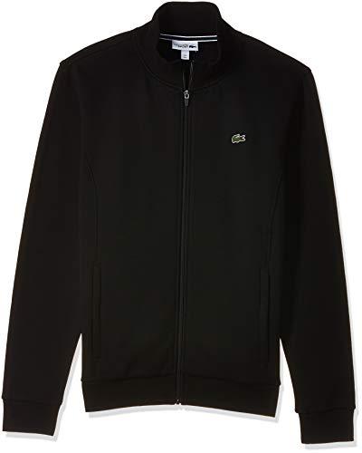 Lacoste Sport Herren SH7616 Reißverschluss Jacke, Schwarz (Noir), X-Small (Herstellergröße: 2)