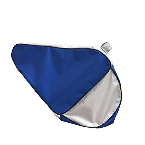 DAZISEN Mochila para Patines - Bolsa Patines de 4 Ruedas Patines de Hielo Portátil Skate Bag Unisex Adulto Niño Niña Azul