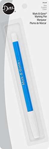 Dritz 676-60 Mark-B-Gone Marking Pen, Blue
