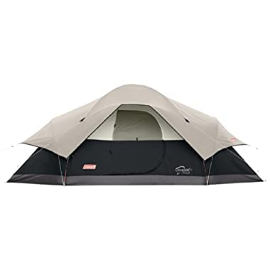 Coleman 8-Person Red Canyon Tent, Black
