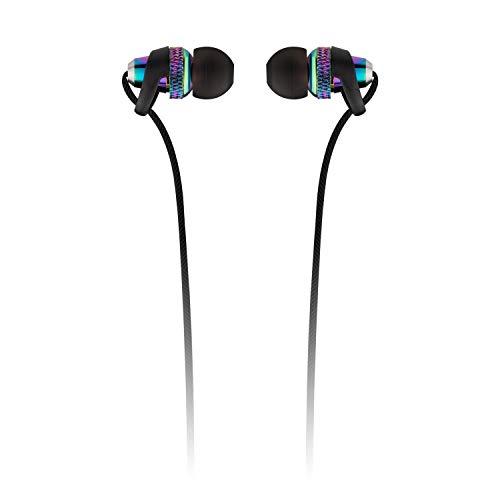 KitSound Choobs koptelefoon met éénknopsbediening, oproepfunctie en geïntegreerde microfoon, iriserend