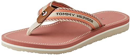 Tommy Hilfiger TH Artisanal Flat Beach Sandal, Sandalias Planas Mujer, Mellie 67d Lista de películas, 39 EU