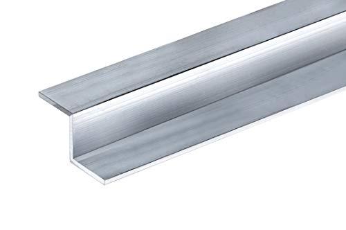 Aluminium Z Profil Alu Schiene Z-Profil Stange Walzblank T66 Aluprofil (20x20x20x2 mm - 2000 mm)