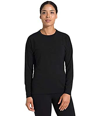 The North Face Women's Workout L/S, TNF Black, 2X