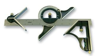 Rolson 50879 Kombi-Set, quadratisch, 300 mm