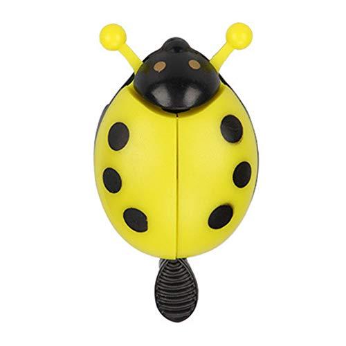 RQQAMI Anillo De Campana De Bicicleta Escarabajo Ciclismo De Dibujos Animados Bell Lovely Kids Ladybug Bell Ring para Bike Ride Horn Alarma Accesorios De Bicicleta