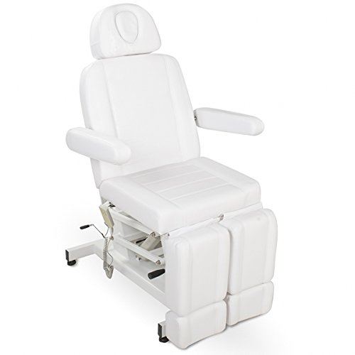 Elektrische/hydraulische Fußpflegestuhl 123706 weiß