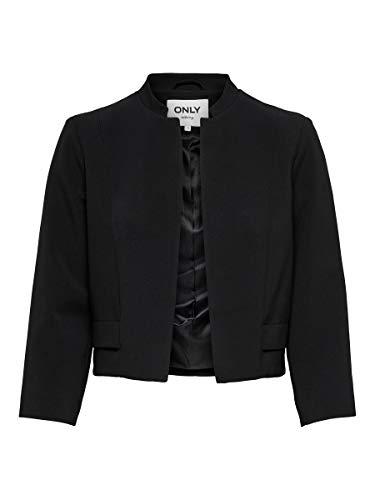 Only Giacca Donna Emmie-Karel 4/5 Short Blazer TLR 15203900 36 Nero