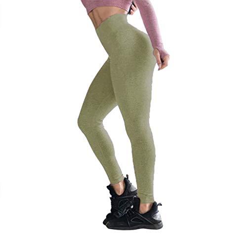 Meilily Fitnesshose Damen Sport Leggings Nahtlose Schnelltrocknung High Waist Skinny Hosen für Frauen/Sporthose Sportleggings Laufhose Tights Fitness Jogging Yoga Hose Dehnen Shapewear Bauchweg