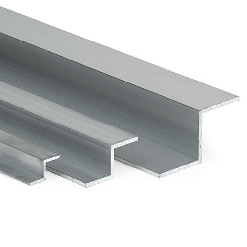 Aluminium Z-Profil AlMgSi05 AxHxBxS: 20x20x20x2mm   L: 2000mm (200cm) Zuschnitt