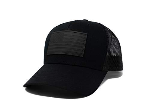 13 STRIPES American Flag Hat (Blackout)