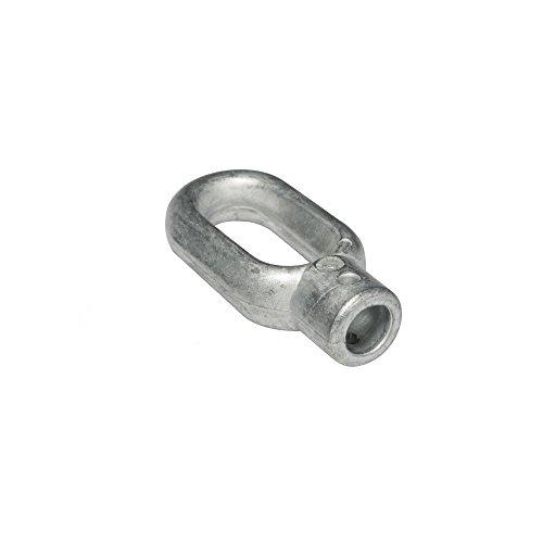 jarolift Markisen-Kurbelöse aus Zinkdruckguss/Bohrung 10 mm