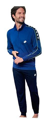 Lotto Chándal de hombre de sudadera de verano, completo y deportivo para hombre, suave para tu máximo confort. 6505 Jeans XL